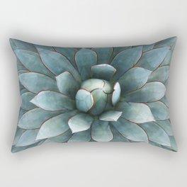 Tranquil Blue Glow Rectangular Pillow