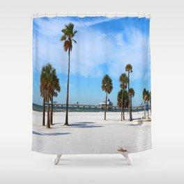 A Florida Winterday Shower Curtain