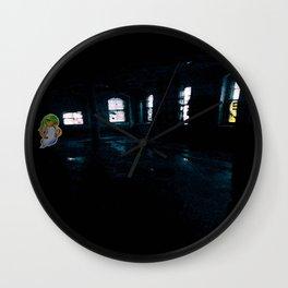 Ghost Girl Wall Clock