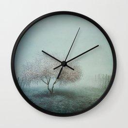 Blurred Hope Wall Clock