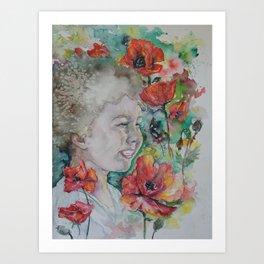 Pinar's Daughter Art Print