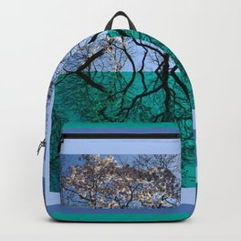 Tree Gate Between Water And Sky Worlds Backpack