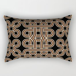 Ethnic knot Rectangular Pillow