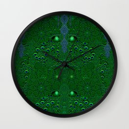 Dragon abstracte skin pattern Wall Clock