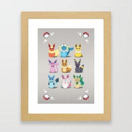 Evolution Bobbles Framed Art Print
