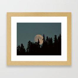 Rising Moon Framed Art Print