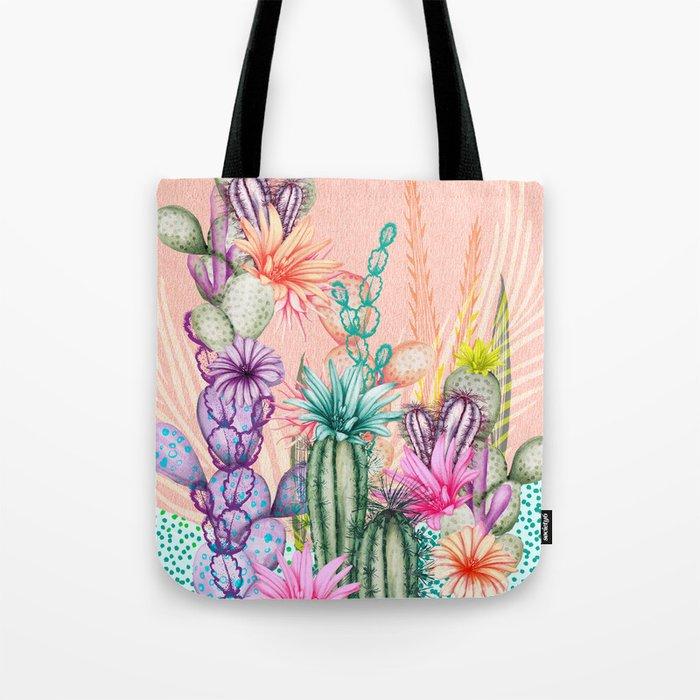 Cacti Love Tote Bag
