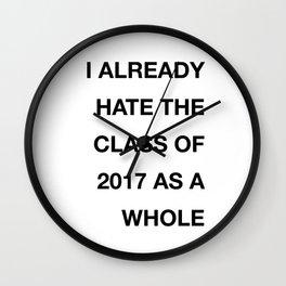 that '17 tweet Wall Clock