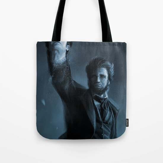 ABE THE HUNTER Tote Bag