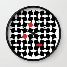 El Batha Pattern Wall Clock