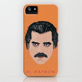 """Narcos """"El Patron"""" Alternative iPhone Case"""