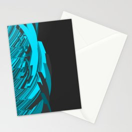 Weird Abstraction Stationery Cards