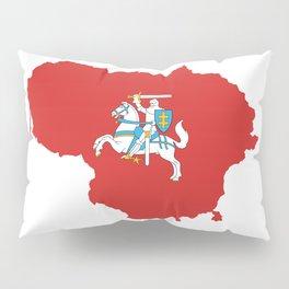 Knight Map Pillow Sham