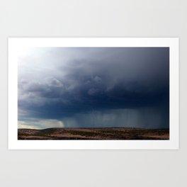 Rain Storm Art Print