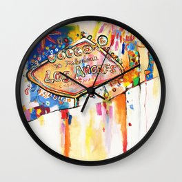 Las Angeles  Wall Clock