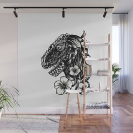 T-Rex Wall Mural