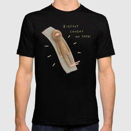 Bigfoot Caught on Tape T-shirt