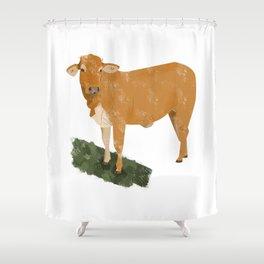 Heifer Shower Curtain
