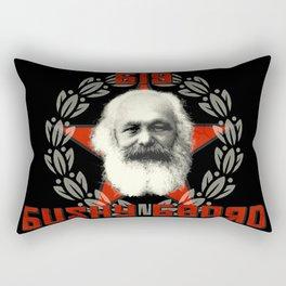 Big Bushy Beard Rectangular Pillow