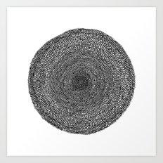 Circle / Semi Circles Art Print