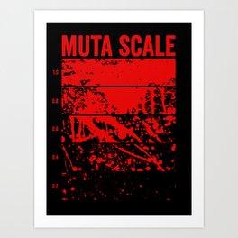 Muta Scale Art Print