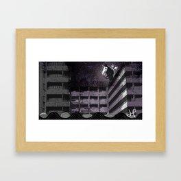 Pegasus + Passageway Framed Art Print