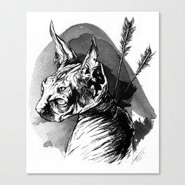 Guard Sphinx Canvas Print