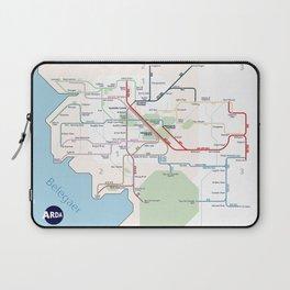 Beleriand Routemap Laptop Sleeve