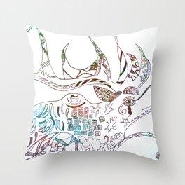 Deer Odd Throw Pillow