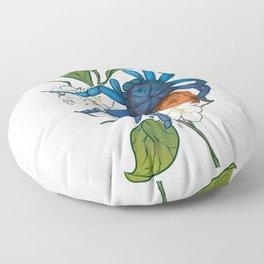 CHROMATOPELMA CYANEOPUBESCENS Floor Pillow