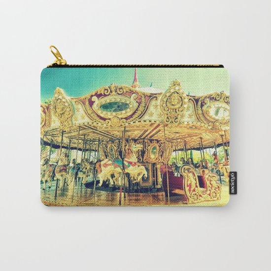 Carousel Merry-G0-Round Carry-All Pouch