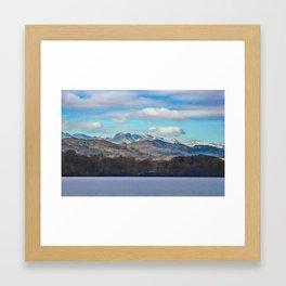 Sailing Lake Windermere Framed Art Print