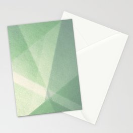 Sun Light Nature - Geometric Abstract Drawing Stationery Cards