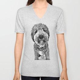 Goldendoodle Mom Dog Lover The Dood T-Shirt Unisex V-Neck