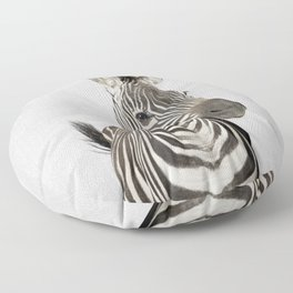 Zebra 2 - Colorful Floor Pillow