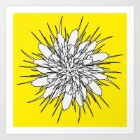 Flower Mandala 2 Art Print