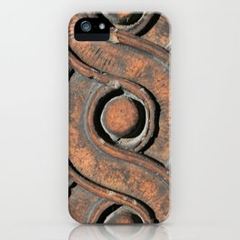 Guilloche Architectural Detail  iPhone Case