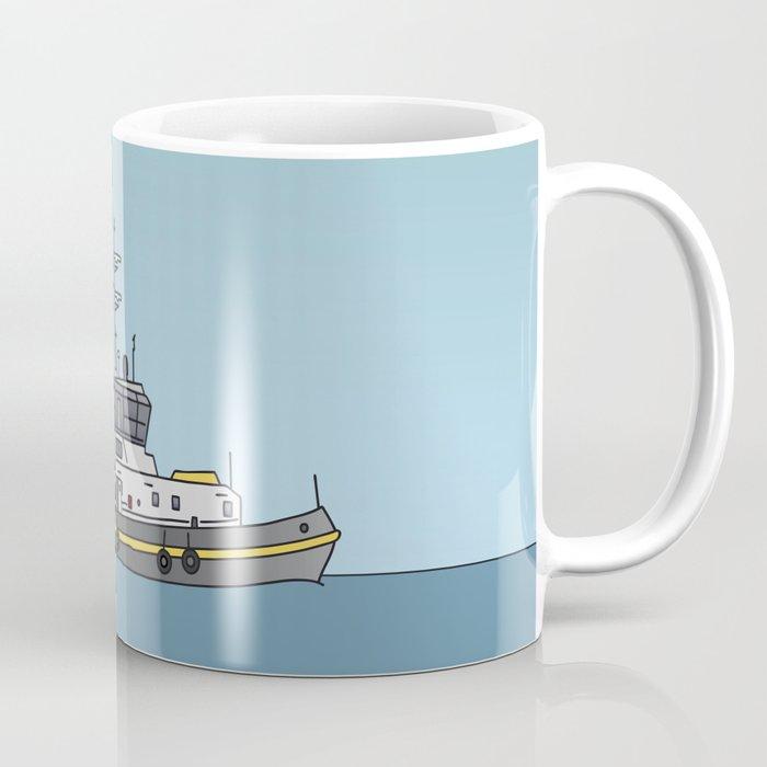 Tug or towing boat Coffee Mug
