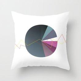 Stadistic Series II Throw Pillow