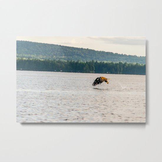 Master Fisher Metal Print