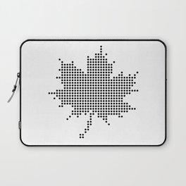 Maple Leaf BW Laptop Sleeve