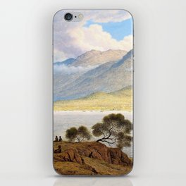Mount Wellington And Hobart Town From Kangaroo Point - John Glover iPhone Skin