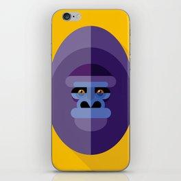 Gorilla gorilla iPhone Skin
