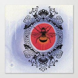 Bumble Bee Sunrise Canvas Print