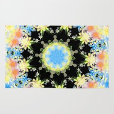 Kaleidoscope 'Twisted Flower' Rug