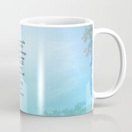 Serenity Prayer September Sky Coffee Mug