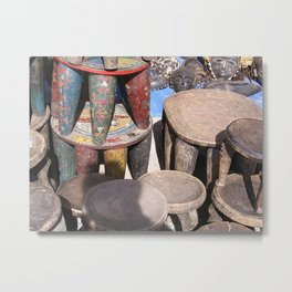 African village Metal Print