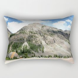 Looking East from the Eureka Gold Mine Rectangular Pillow