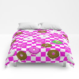 A King Cake Donut Comforters