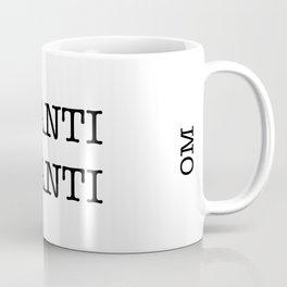 OM SHANTI SHANTI Coffee Mug
